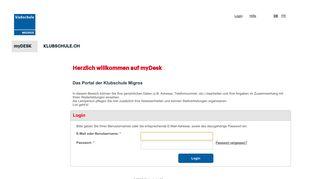 https://mydesk.klubschule.ch/