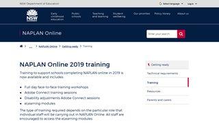 NAPLAN Online 2019 training | Student assessment