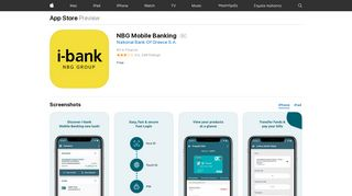 NBG Mobile Banking on the App Store - iTunes - Apple