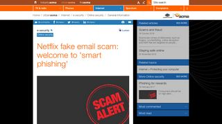 Netflix fake email scam: welcome to 'smart phishing' | ACMA
