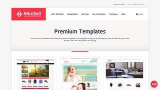 Premium Templates | NitroSell