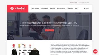 Integrate your POS with shopping cart | NitroSell