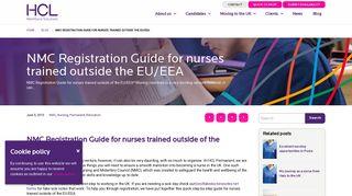 NMC Registration Guide for nurses trained outside the EU/EEA ...
