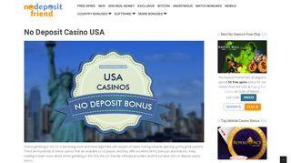 Best No Deposit Casino Codes USA for 2019
