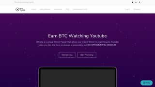 Earn Bitcoin Watching Videos - Bittube