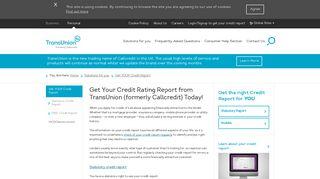 Callcredit Report - Noddle | Callcredit - Callcredit Information Group