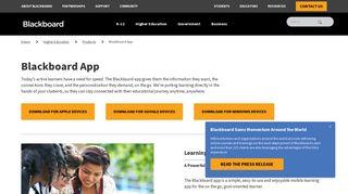 Blackboard App for students | Blackboard