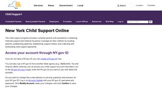 NYS DCSS | New York Child Support