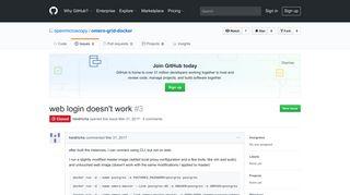 web login doesn't work · Issue #3 · openmicroscopy/omero-grid-docker ...