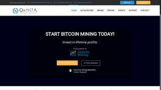 Omnia Tech | Cryptocurrency Mining