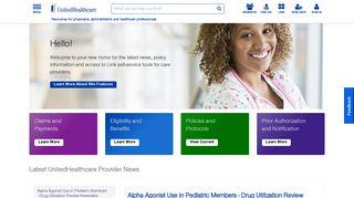 UHCprovider.com Home   UHCprovider.com