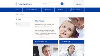 Providers   UnitedHealthcare