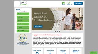 Home   UMR Portal