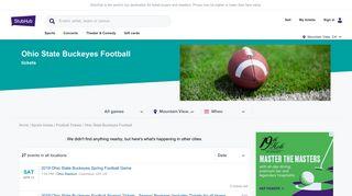 Ohio State Football tickets - StubHub