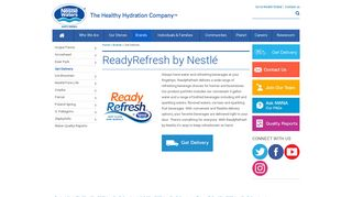 ReadyRefresh | Water Delivery | Nestlé Waters North America