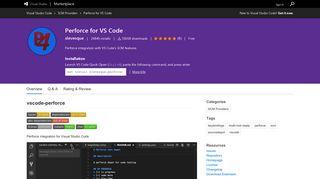 Perforce for VS Code - Visual Studio Marketplace