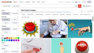 Panic Button Images, Stock Photos & Vectors   Shutterstock