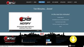 CRS Notify Panic Button - Alert Notification and Panic Button Alarm ...