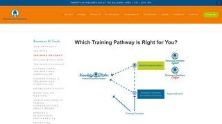 Training Gateway — Parents as Teachers