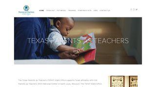 Texas Parents as Teachers