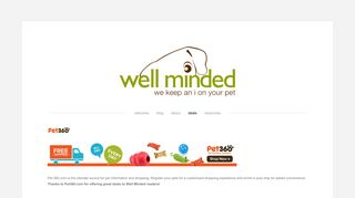 Pet360 — well minded pets