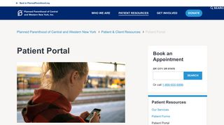 Patient Portal | Planned Parenthood of Central and Western New York ...