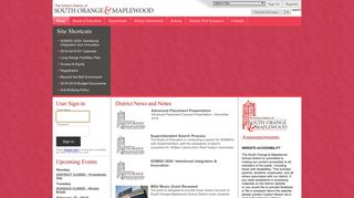 The School District of South Orange and Maplewood / Overview