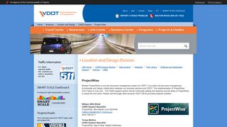 ProjectWise - Virginia Department of Transportation
