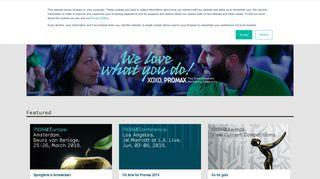 PromaxBDA   The Association for Entertainment Marketing