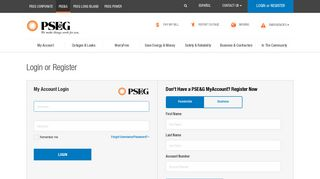 Online Account Management through My Account - PSE&G - PSEG.com