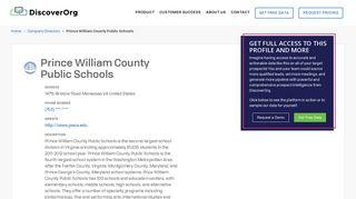 Prince William County Public Schools Executives, Organizational ...