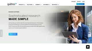 Qualitative Research Software   Qualtrics Research Core