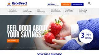 High Interest Savings, Term Deposits & SMSF | RaboDirect AU