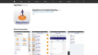 RaboDirect AU Mobile Banking on the App Store - iTunes - Apple