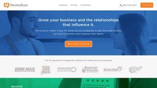 ReviewBuzz   Reputation management software for home service ...