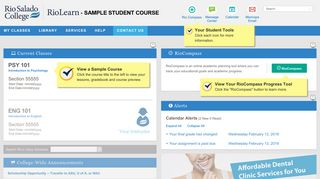 RioLearn My Site - Rio Salado College