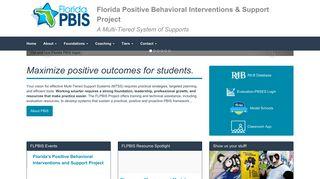Florida PBIS Project