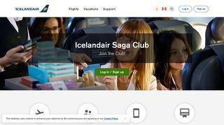 Icelandair Saga Club