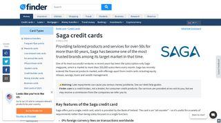 Compare Saga credit cards for 2019 | finder UK - Finder.com