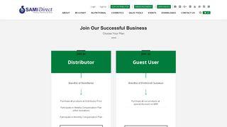 SignUp - Sami Direct