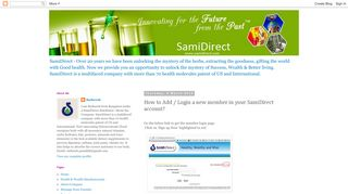 SamiDirect: How to Add / Login a new member in your SamiDirect ...