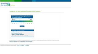 Standard Chartered Online Banking | Pakistan