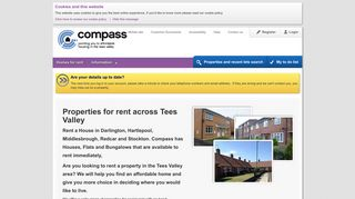 Homes for rent - Tees Valley - Welcome to Compass