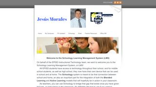 EPISD Schoology Information - My EdTech Site - Jesus Morales