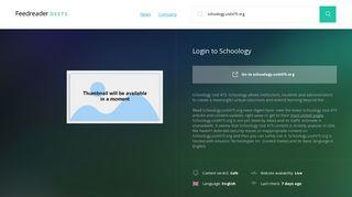 Get Schoology.usd475.org news - Login to Schoology