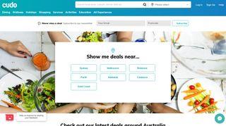 Cudo: Australia Deals - Discount Hotels, Restaurant Deals & More