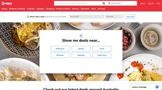 Scoopon: Australia Deals - Discount Hotels, Restaurant Deals & More