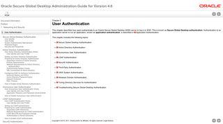 User Authentication - Oracle Secure Global Desktop - Oracle Docs