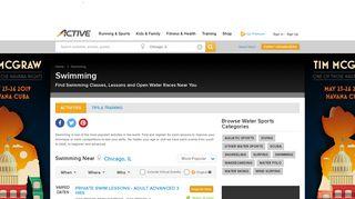 Swim Classes & Swim Competitions   ACTIVE
