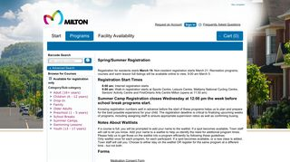 Swimming Lessons - Milton Online Registrations : Programs - Town of ...
